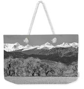 Rocky Mountain View Bw Weekender Tote Bag