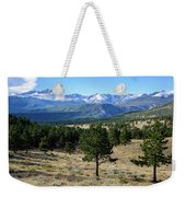 Rocky Mountain View Weekender Tote Bag