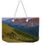 Rocky Mountain Wilderness Weekender Tote Bag