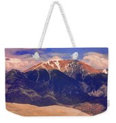 Rocky Mountains And Sand Dunes Weekender Tote Bag