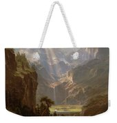 Rocky Mountains, Lander's Peak Weekender Tote Bag