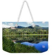 Rocky Mountains Majesty Weekender Tote Bag
