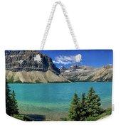 Rocky Mountains Panorama Weekender Tote Bag