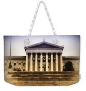 Rocky On The Art Museum Steps Weekender Tote Bag