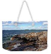 Rocky Point - Wreck Island Weekender Tote Bag