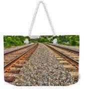 Rocky Railroad Rails Weekender Tote Bag