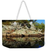 Rocky Reflection Weekender Tote Bag