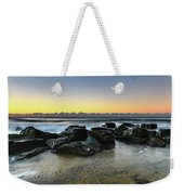 Rocky Seascape Weekender Tote Bag