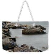 Rocky Shore Weekender Tote Bag