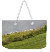 Rocky Shoreline Weekender Tote Bag
