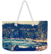 Rocky Shores Of Lake Superior Weekender Tote Bag