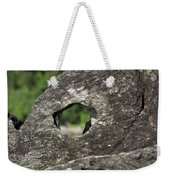 Rocky View Point Weekender Tote Bag by Debbie Cundy