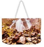 Rocky Water Wilderness Weekender Tote Bag