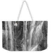 Rocky Waterfall Weekender Tote Bag