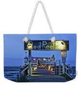 Rod And Reel Pier Weekender Tote Bag