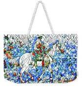 Rodeo Wrangler Mosaic Weekender Tote Bag