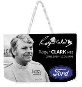 Rodger Clarke Weekender Tote Bag