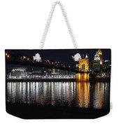 Roebling Bridge Weekender Tote Bag