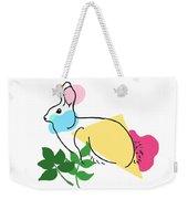 Roger Bunny Weekender Tote Bag