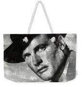 Roger Moore Hollywood Actor Weekender Tote Bag