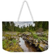 Rogue River Near Union Creek Weekender Tote Bag