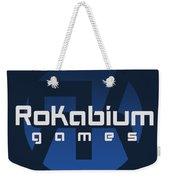 Rokabium Games Logo Weekender Tote Bag