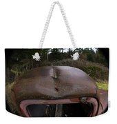 Roll Over Old Truck Weekender Tote Bag