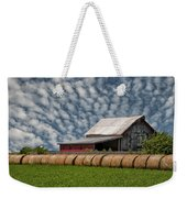 Rolled Up - Hay Rolls And Barn Weekender Tote Bag