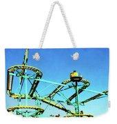 Roller Coaster Weekender Tote Bag
