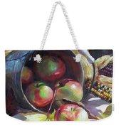 Rolling Apples Weekender Tote Bag