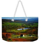 Rolling Countryside Weekender Tote Bag