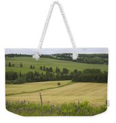 Rolling Farmland Stretches Weekender Tote Bag