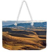 Rolling Foothills And The Bighorn Mountains Weekender Tote Bag