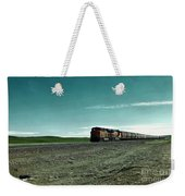 Rolling Freight Train Weekender Tote Bag