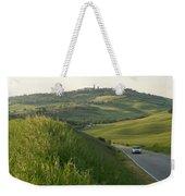 Rolling Hills Cradle A Winding Road Weekender Tote Bag