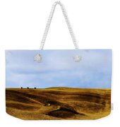 Rolling Hills Of Hay Weekender Tote Bag