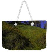 Rolling Hills With Poppies Weekender Tote Bag