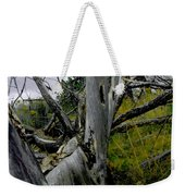 Rolling Log 2 Weekender Tote Bag