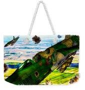 Linebacker II - The Thud - Water Color Weekender Tote Bag