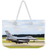 Rolling To Position Weekender Tote Bag