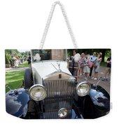 Rolls Royce Ice Cream Car  Weekender Tote Bag