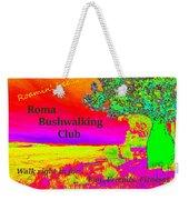 Roma Bushwalking Club Weekender Tote Bag