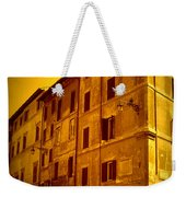 Roman Cafe With Golden Sepia 2 Weekender Tote Bag