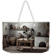 Roman Kitchen, 100 A.d Weekender Tote Bag