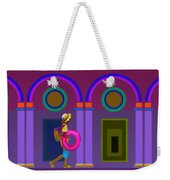 Roman Lavender Weekender Tote Bag