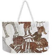 Roman Mosaic: 5th Century Weekender Tote Bag