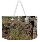 Roman Poppy Weekender Tote Bag