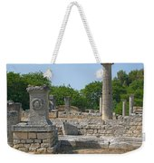 Roman Ruins Near St. Remy In Provence Weekender Tote Bag