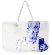 Roman Selfie Weekender Tote Bag