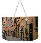 Roman Street Weekender Tote Bag